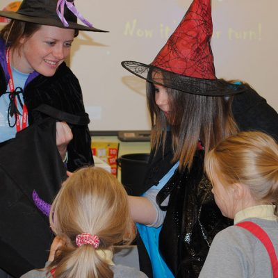 Meet The Writing Witches – and learn their secret spells for magical stories!