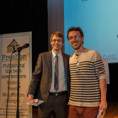 Watch: Poetry Prize winner 2015, Frank Podmore