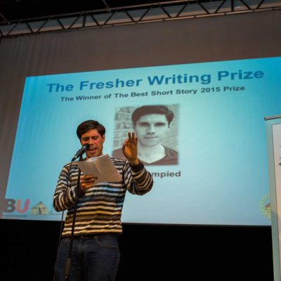 Watch: Short Story Prize winner 2015, Adam Blampied
