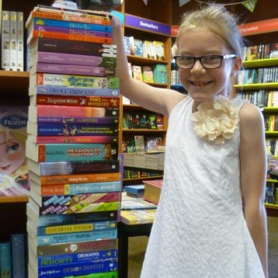 Writing Wizardry winner collects Prize