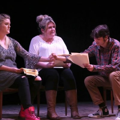 Rehearsed reading of Capture by Emily Dinova